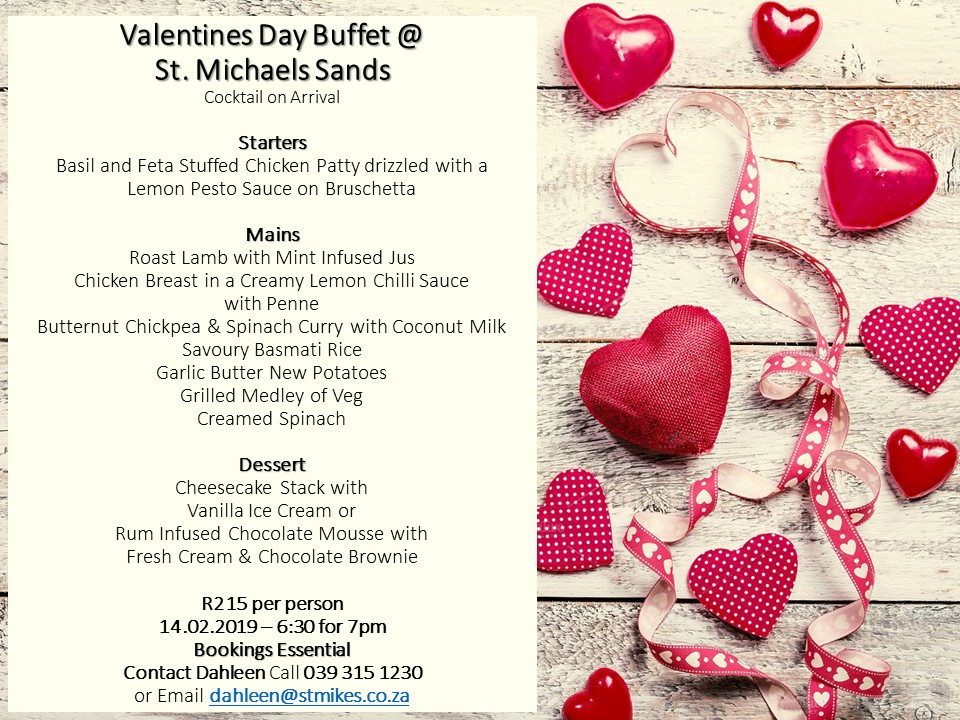 Valentines Day Buffet